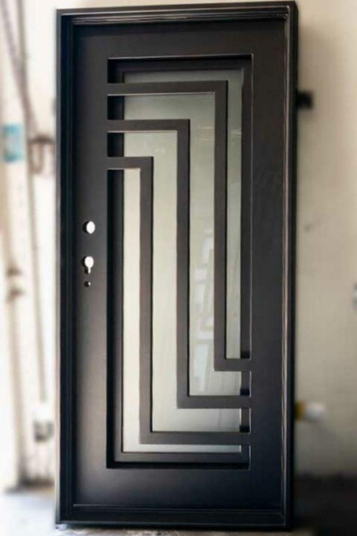 Fantastico Pantalla Modelos De Puerta Exteriores Estilo Puertas De Hierro Modernas Solida En 2020 Modelos De Puertas Puertas De Metal Diseno De Puerta De Hierro