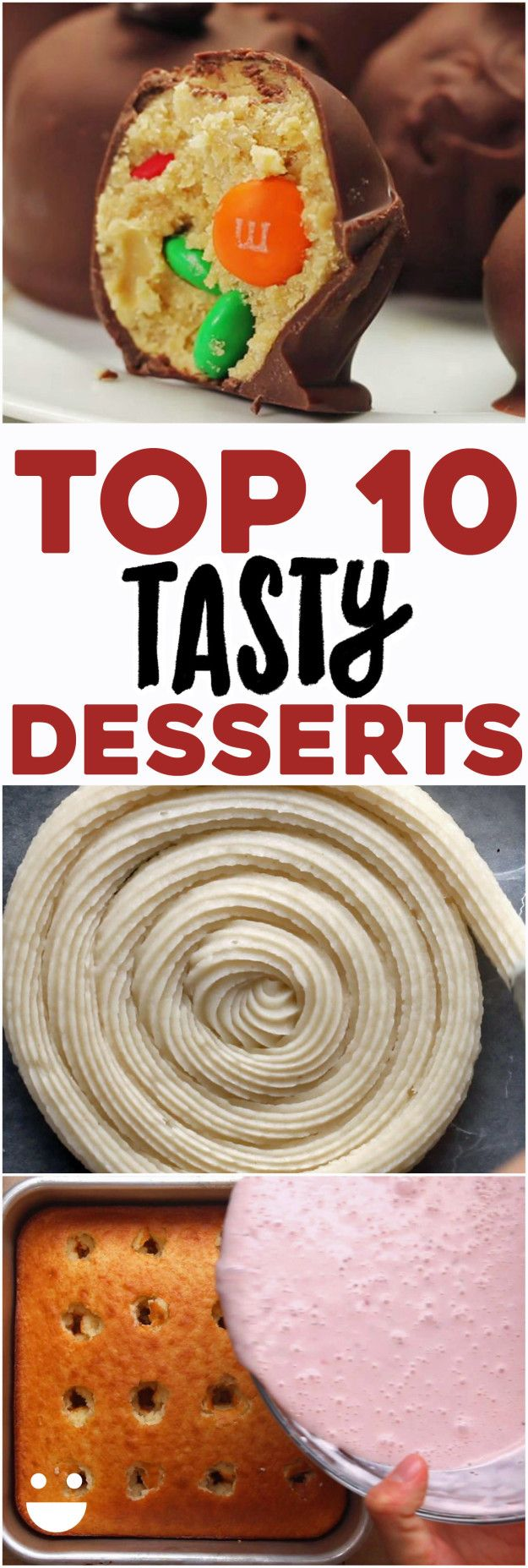 Top 10 Tasty Desserts | Here Are 10 Dessert Recipes That You Need To Make