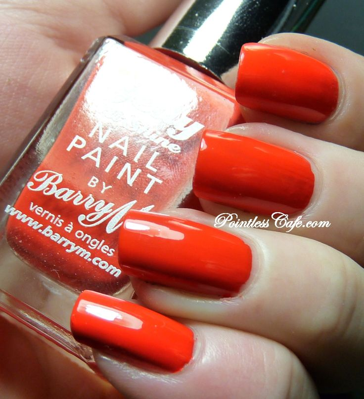 Nail of the Day: Barry M Gelly Satsuma | Pointless Cafe