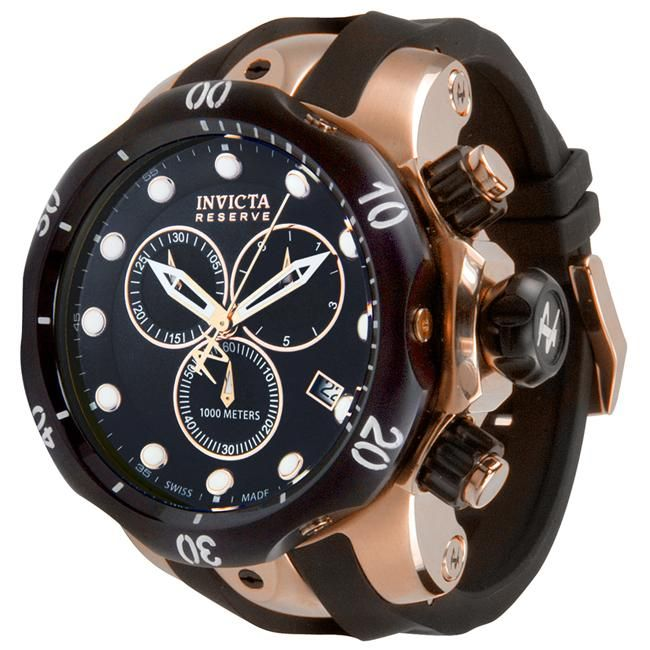 Invicta Men's Reserve Chronograph Watch. For More Updates Please Follow Me @Piinterest | Follow Back.