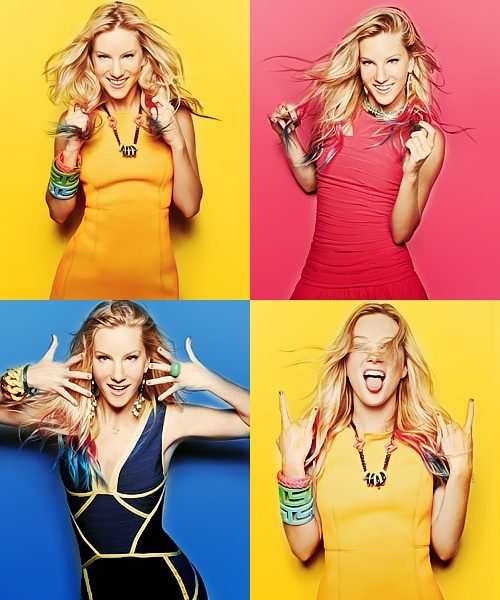 Someone at school told me that i look like heather morris....... Thank you for lying to me