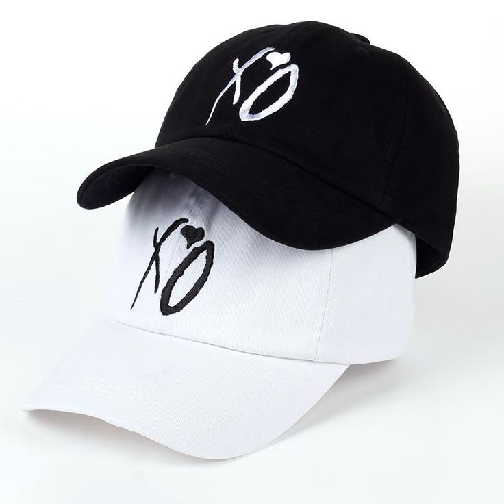 Wallmart.win X.O Caps The Newest Dad Hat XO Baseball Cap Snapback Hats High Quality Adjustable Design Women Men The Weeknd Starboy Hats S:…