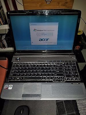 """ACER ASPIRE 6930 LAPTOP- 16"""" NICE!! RESET TO FACTORY CONDITION-320 GB"""