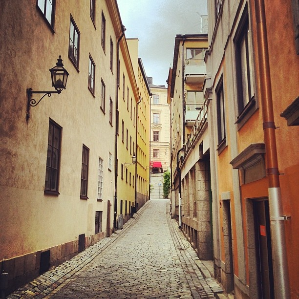 Stockholm, this should go on Travels, but it's one of my favorite places too. :)