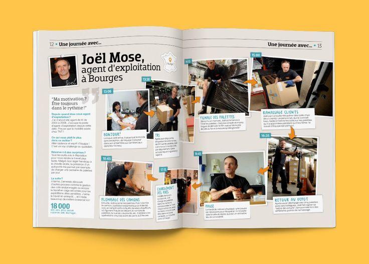 Magazine – Proposition de refonte du magazine de la TNT, entreprise de transport express à travers le monde. Appel d'offre / Agence Angie / 2013