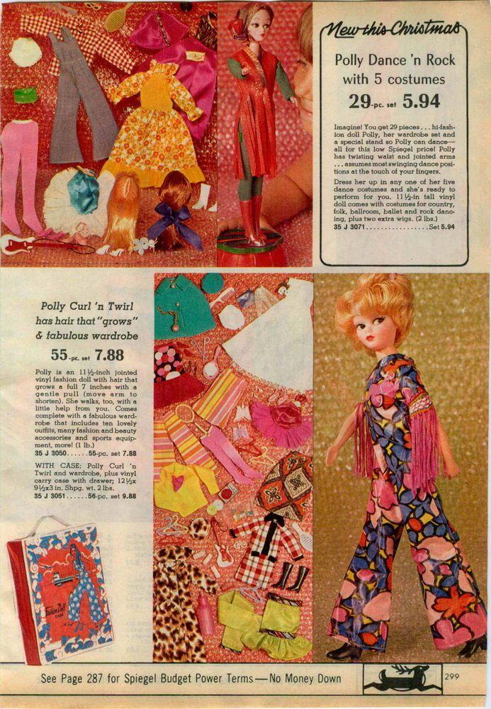 1971 ADVERTISEMENT Doll Polly Ken Talking Barbie Camper Dune Buggy Horse Dancer  | eBay