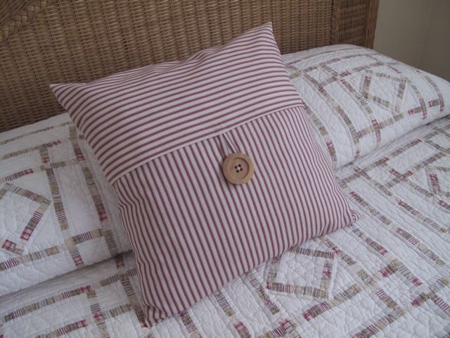 DIY pillow slip cover so cute