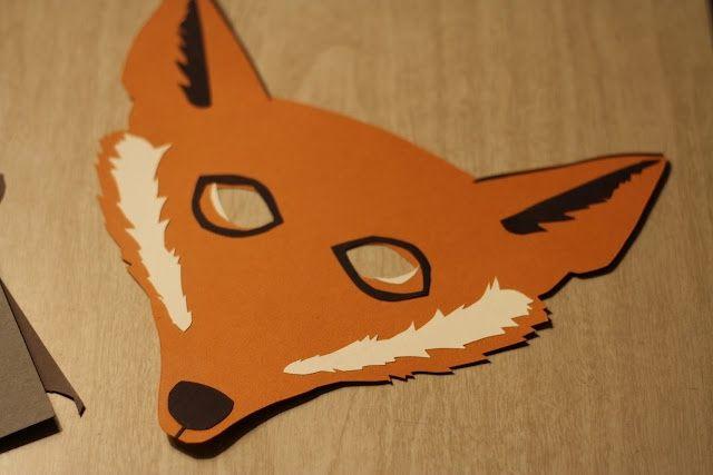 17 Best Images About Diy Animal Masks On Pinterest Diy