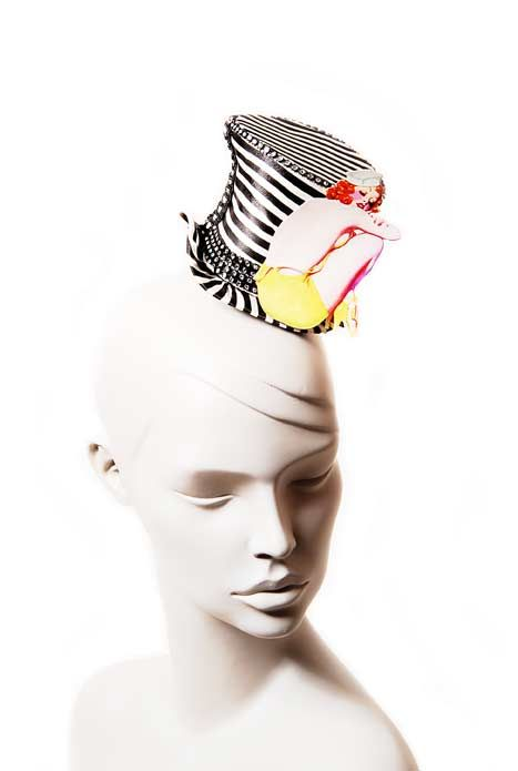 Wicked by Ipek Yaylacioglu Occasion millinery hats & hair accessory - Pin up sailor hat