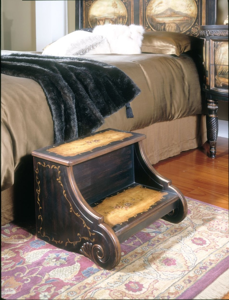 Bed Step Stool: My Dream Bedroom