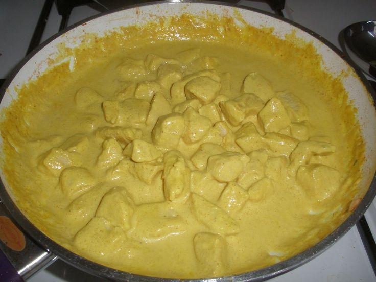 Receta de salsa curry con pera
