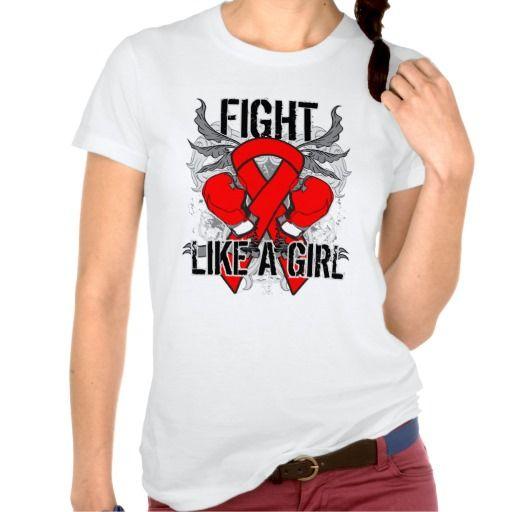 """Consiga su lucha como un engranaje del chica a la derecha aquí a la conciencia del aumento para su causa con nuestra colección de <b>Lucha de la hemofilia como el camisetas de un chica, la ropa, las camisetas y los regalos del activismo</b> la atracción de un diseño apenado ultra-fresco de la heráldica con los guantes de boxeo y de una cinta intrépida de la conciencia le trajo cerca  <a href=""""http://www.fightlikeagirlgiftshop.com"""">FightLikeaGirlGiftShop.Com</a>.  Ideal para los…"""