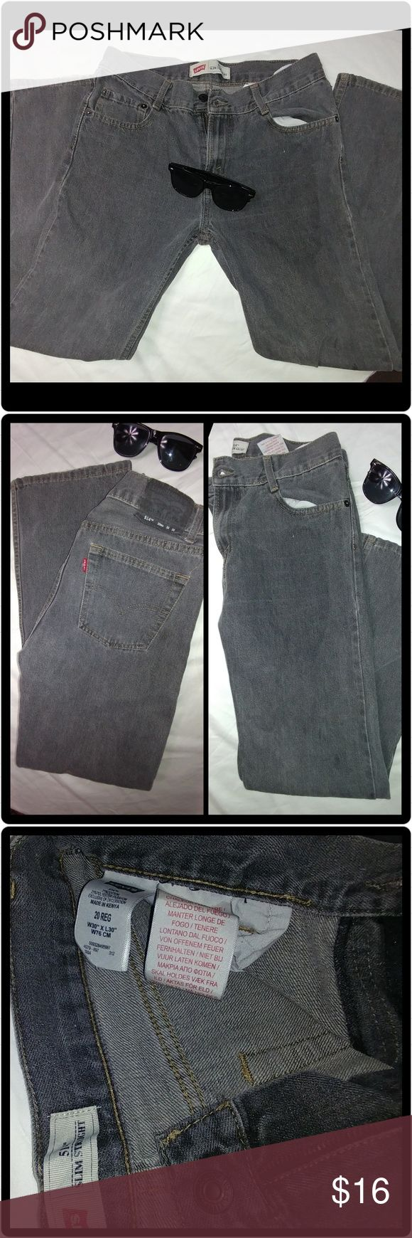 514 slim straight Levi's jean 514 slim straight Levi's jean. Worn with love. 514 Levi's jean. Normal wear and tear. Size 30x 30. Message me for more details, offers are personalized bundles. Thank you for looking.  #jean #used #grey #black #levisjeans #slimstraight #size30by30 #backtoschool Levi's Jeans Slim Straight