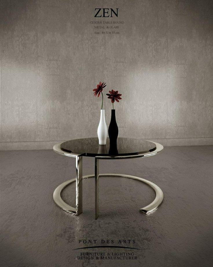 Zen Center Table   Pont Des Arts   Designer Monzer Hammoud   Paris