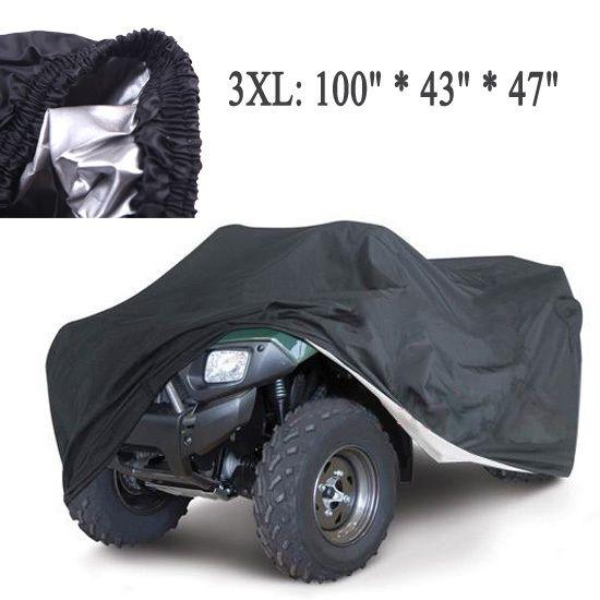 Uniwersalny quad atv części pokrywy motocykla pojazdu samochodów pokrowce pyłoszczelna wodoodporna odporna pyłoszczelne anty-uv rozmiar 3xl