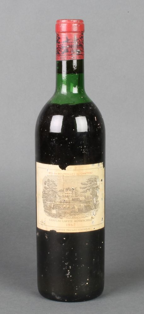 Lot 230, A bottle of 1967 Chateau Lafite Rothschild, est £50-100