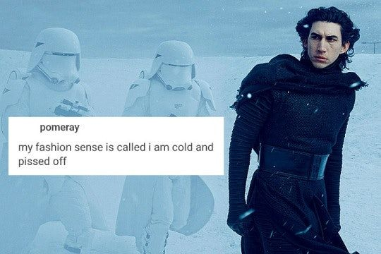 12 Kylo Ren Memes From 'Force Awakens' That Prove The 'Star Wars' Villain Is Really Just A Whiny Teen