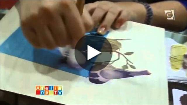 Demonstração de produtos OPA Criando Arte na Mega Artesanal 2015 com Mayumi Takushi  Lista de Materiais * Estêncil Opa Pássaro e Ninho  * Estêncil Opa Cestaria
