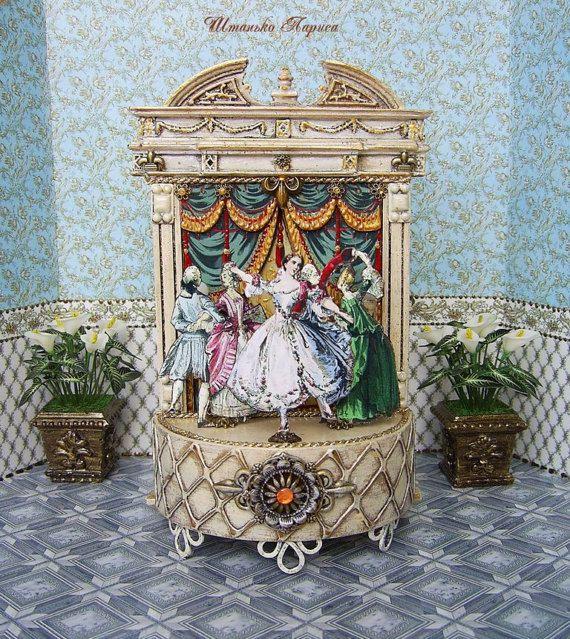 Vintage puppet theater. Musical puppet theater.  от ShtankoLarisa