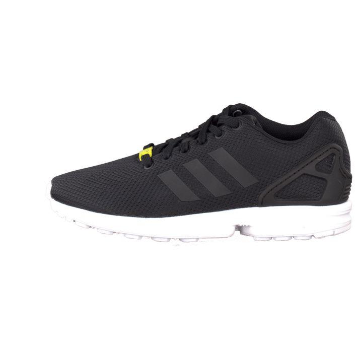 on sale fb014 c0a49 ... Köp adidas Originals Zx Flux Black Black White Svarta skor   Sneakers  för Herr ...