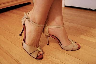 custom painted tango shoes
