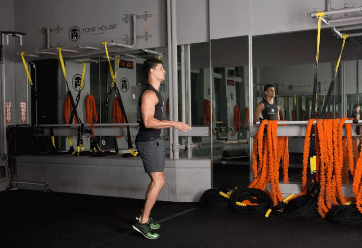 2. Tuck Jump #abs #workout #exercises http://greatist.com/move/abs-workout-unexpected-moves-that-work-better-than-crunches