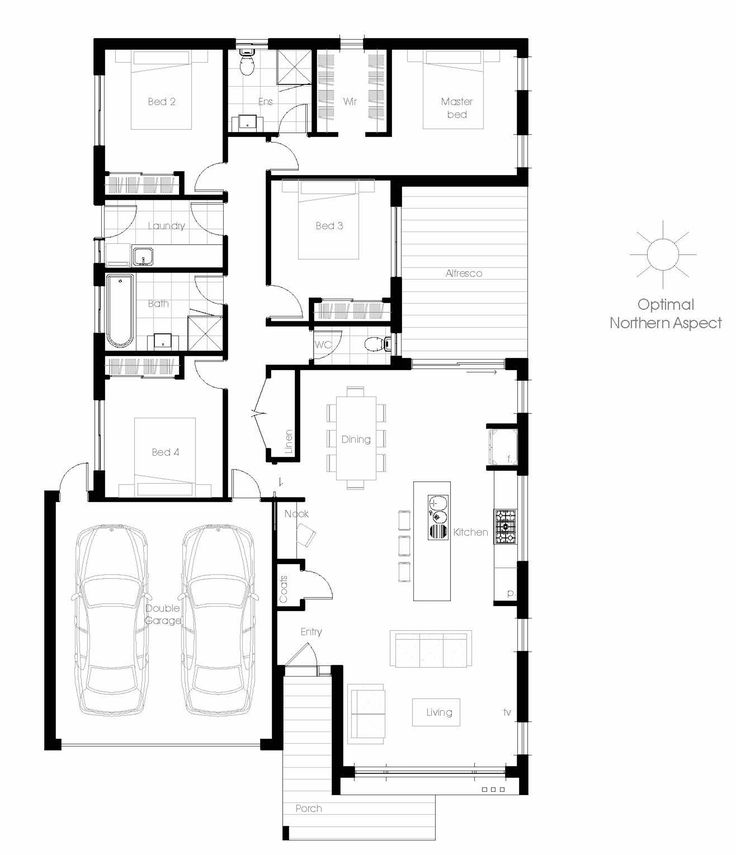 The Currawong Offers The Very Best In Energy Efficient Home Design From  Green Homes Australia Take A Look At The Floor Plan Here