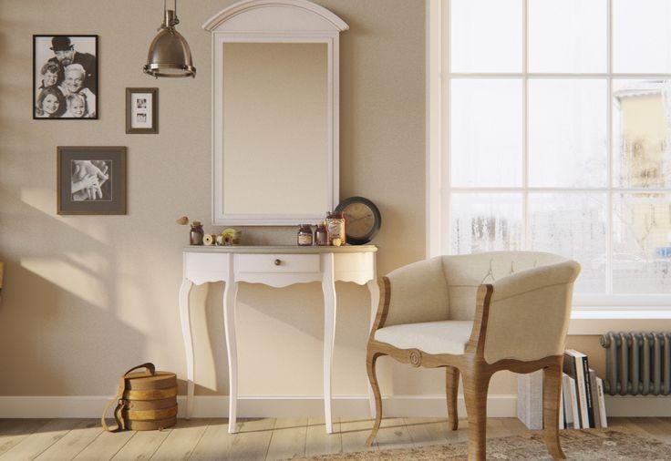 """Компактный комплект """"Leontina"""" отлично впишется в любой интерьер гостиной или прихожей!"""