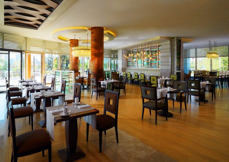 The all day dining restaurant is inspired by the Mediterranean Turkish/Italian cooking through an elegant mélange of traditional flavors of the various regions and contemporary demand for freshness and balanced nutrition.