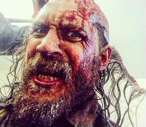 Tom Hardy - The Revenant - Audrey Dole, Tom's Make up Artist has shared this pic.