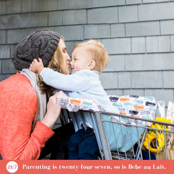 Shopping Cart Covers are here! It's flu season and you are trying to keep your little one away from those germs. The Bebe au Lait shopping cart cover can help on those trips to the grocery store or the restaurant.