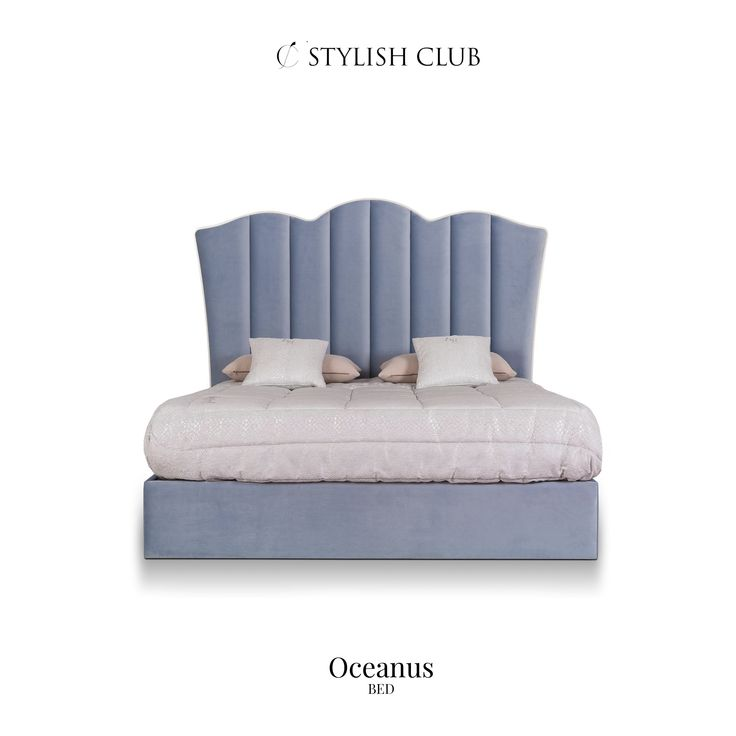 The bed Oceanus already sounds nice, doesn't it? The design, forms and the title connects so well.