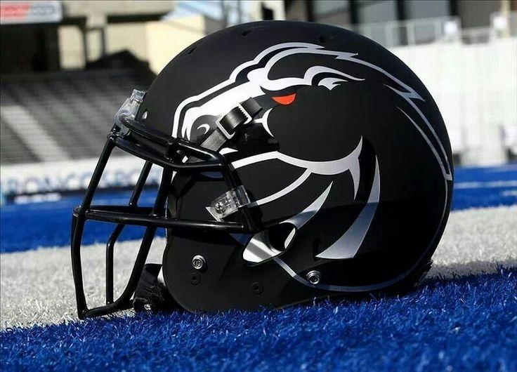 Bsu black football helmets cool football helmets