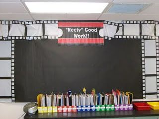 SO cute...a Hollywood themed classroom!