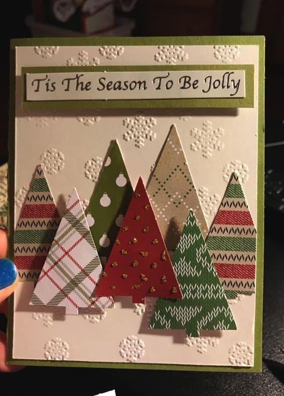 35 Adorable Christmas Craft Ideas That Bring The Holiday Spirit Into Your House Ecemella Diy Christmas Cards Christmas Cards Handmade Christmas Card Crafts