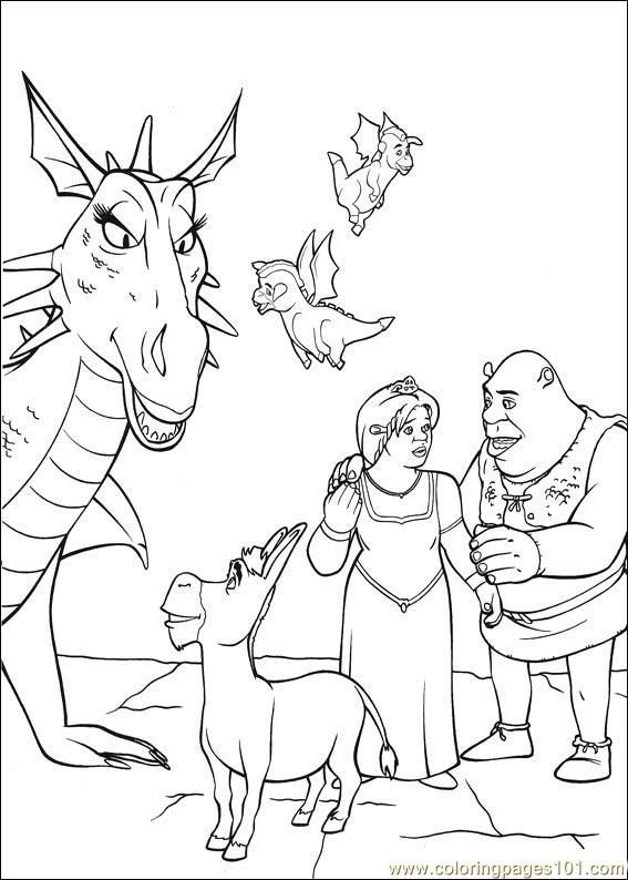 Free Shrek Printable Coloring Pages, Download Free Clip Art, Free ... | 794x567