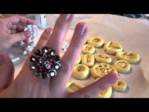Make Own Clay Charms with Amazing Mold Silicone Putty