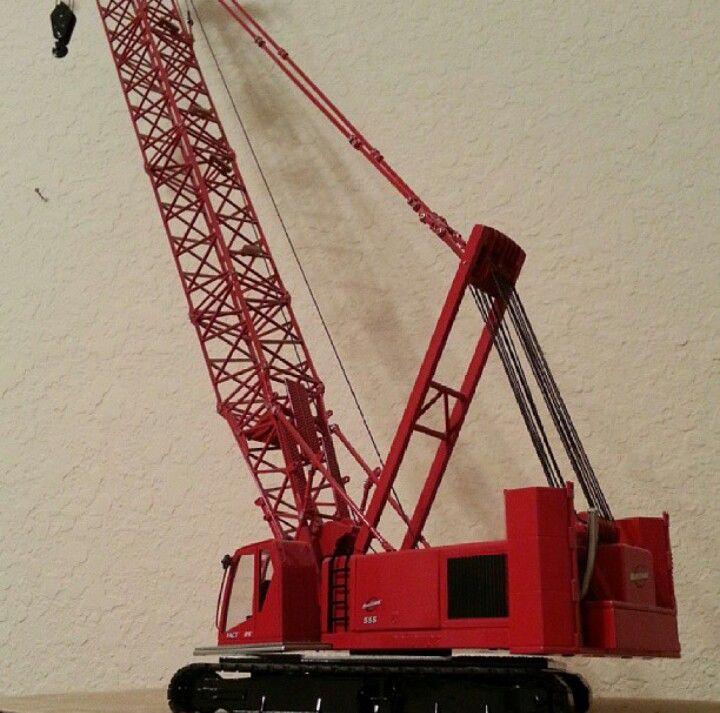 Twh 1 50 Scale Manitowoc 555 Crane My Die Cast Models