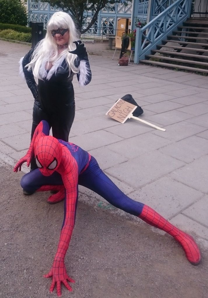 From NärCon Summer in Sweden 2015 Me and Spider-Man!