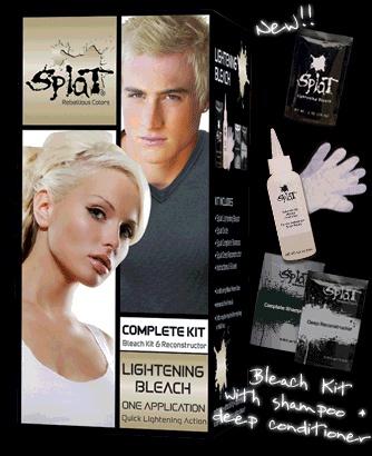 Splat Lightening Bleach Hair Dye Kit