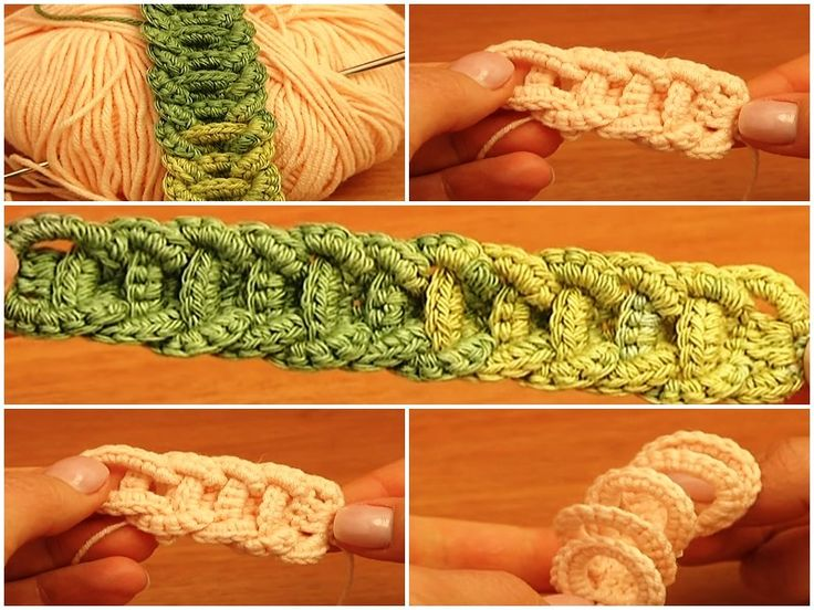 Crochet Braided Cord Tutorial - Crochet Belts, Necklaces, Bracelets