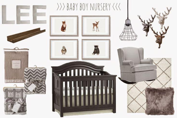 Woodland Nursery Inspiration Baby Boy Nursery Decor