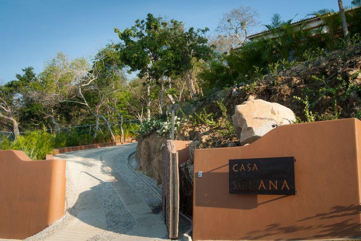 Solana boutique Bed & Breakfast above Las Gatas Beach in Zihuatanejo