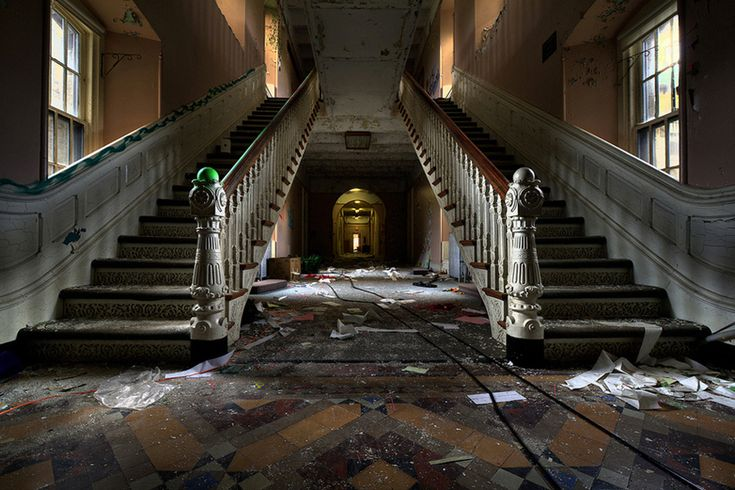 Greystone Park Psychiatric Hospital. 20 Haunting Pictures Of Abandoned Asylums. If only walls could talk...