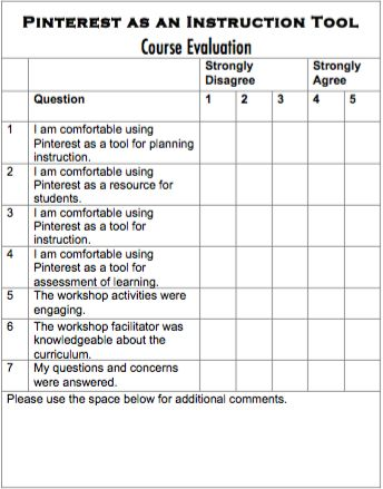 The 25+ best Course evaluation ideas on Pinterest E learning - sample peer evaluation form