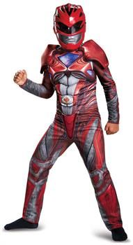 PartyBell.com - Power Rangers: Red Ranger Classic Muscle Child Costume