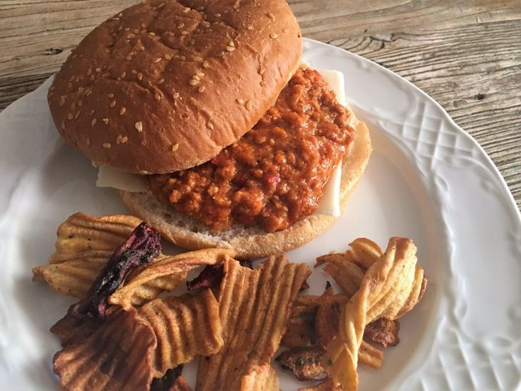 Sloppy joe, un delicioso sandwich de carne picada americano (crockpot - slowcooker)