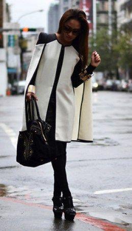 Blazer capa ou cape blazer: nova tendência no ar