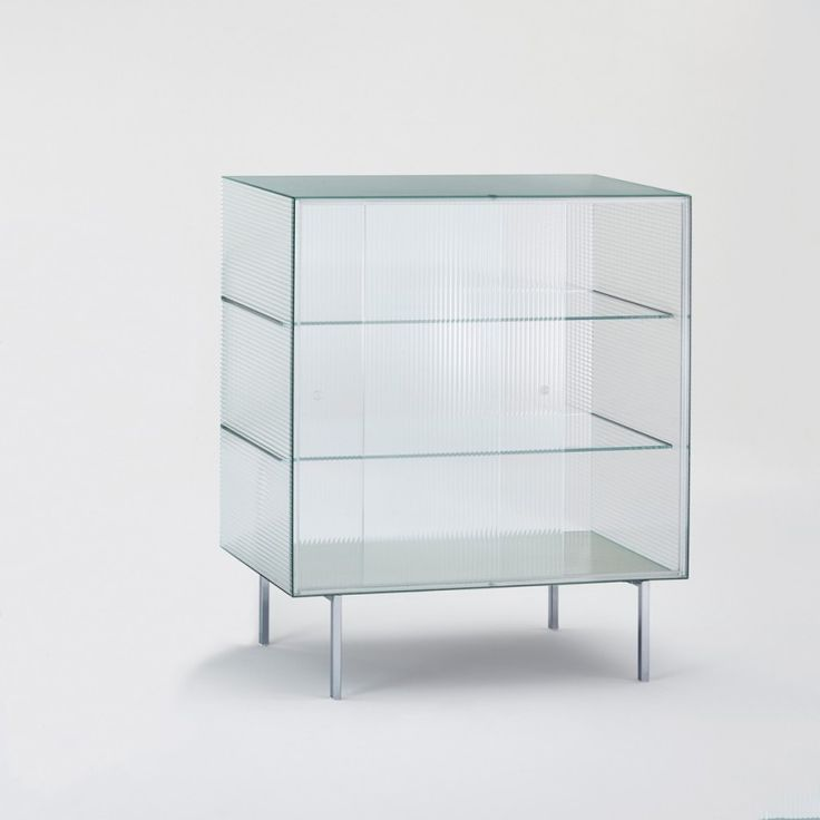 Shop SUITE NY for the Commodore designed by Piero Lissoni for Glass Italia and more designer glass furniture and cabinets and storage solutions