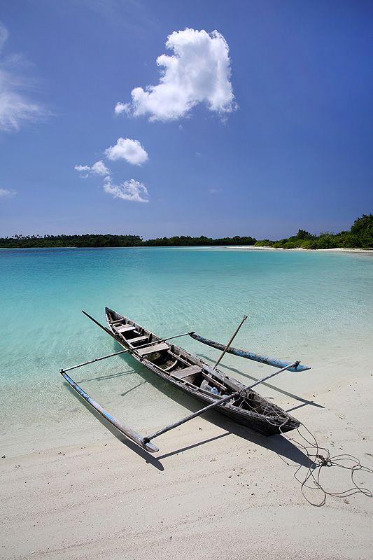 The Lagoon on Wunga Island, off the west-coast of North Nias Regency. Nias Island, Indonesia. www.northniastourism.com